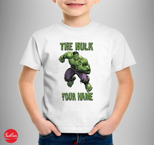 The Hulk Persanlised T-shirt